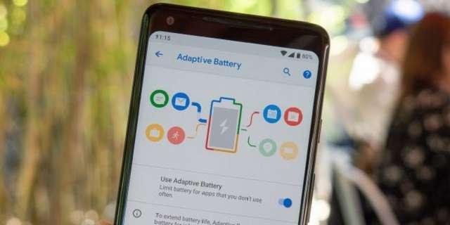 экономия расхода батареи Android P
