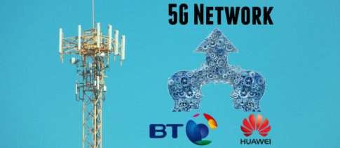 BT и Huawei создают 5G сеть