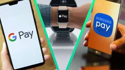 GooglePay ApplePay SamsungPay