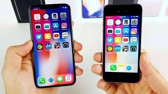 iPhone X и iPhone SE