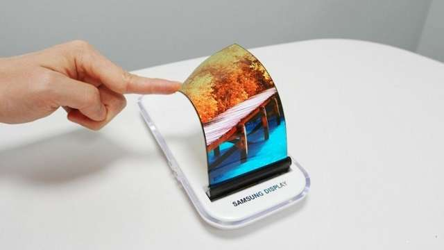 гибкий OLED-дисплей от самсунг