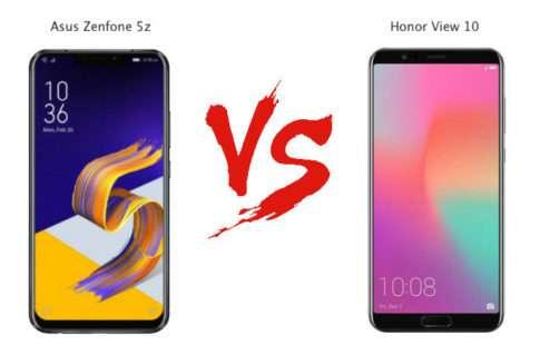Asus Zenfone 5Z vs Honor 10