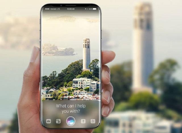 концепт арт нового Iphone 9