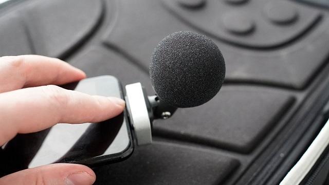 Внешний микрофон для айфона