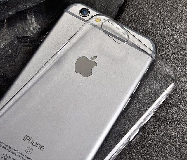 айфон и силиконовый чехол