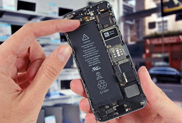 телефон с несъемной батареей