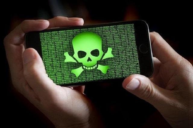 вирус на смартфоне