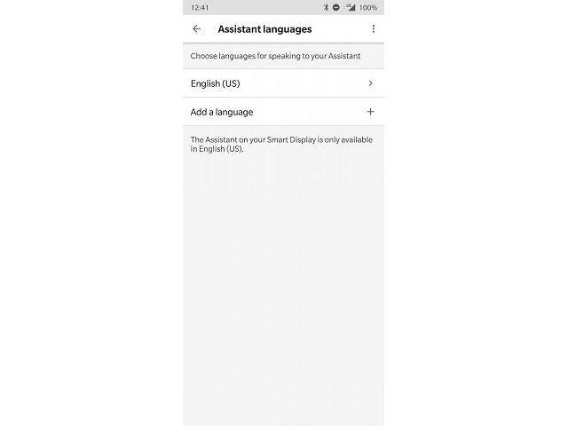 Assistant languages