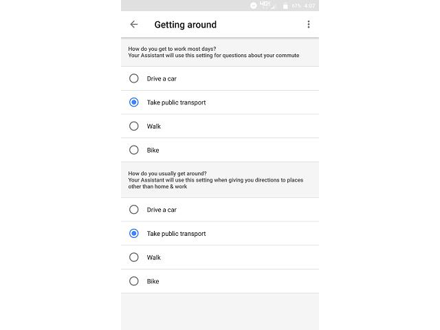 Getting Around Google Ассистент