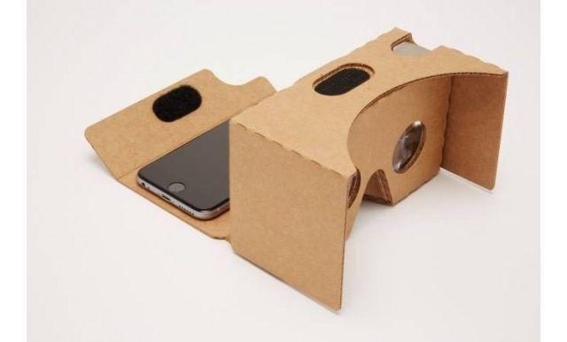 картонные очки виртуальной реальности от гугл