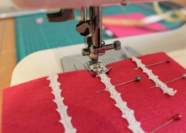 сшивание чехла