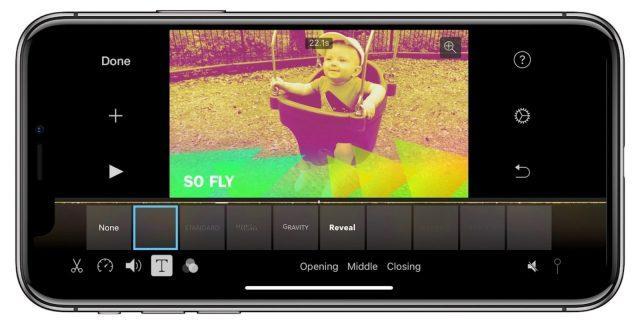 imovie для iphone