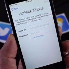 активация айфон