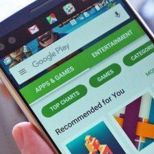 Google Play на смартфоне