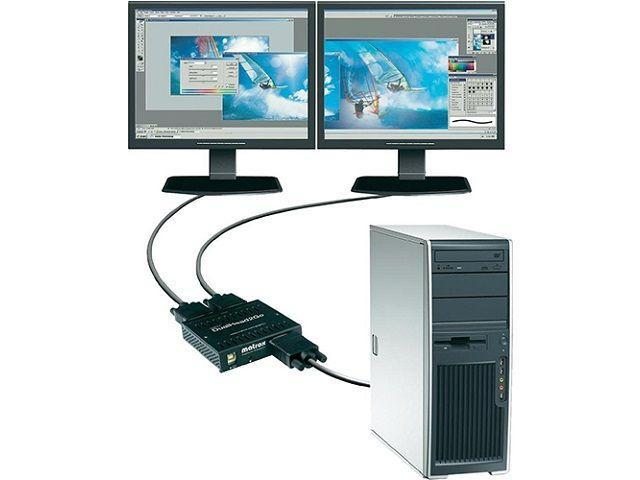 подключение двух мониторов к компьютеру