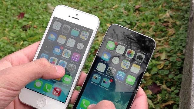 Сравнение Айфон 5 и 5s