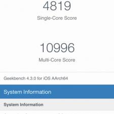 iPhone Xr GeekBench