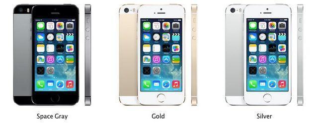 айфон 5s цвета