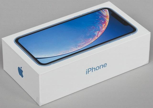 iphone xr коробка