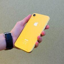 iPhone Xr тыльная сторона