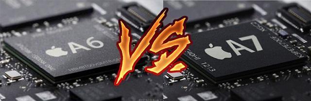 процессор а6 против а7