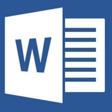 логотип word
