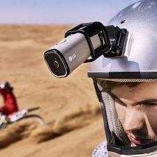 человек с экшн камерой