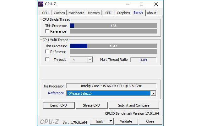 CPU-Z Bench