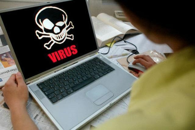 вирус на компьютере