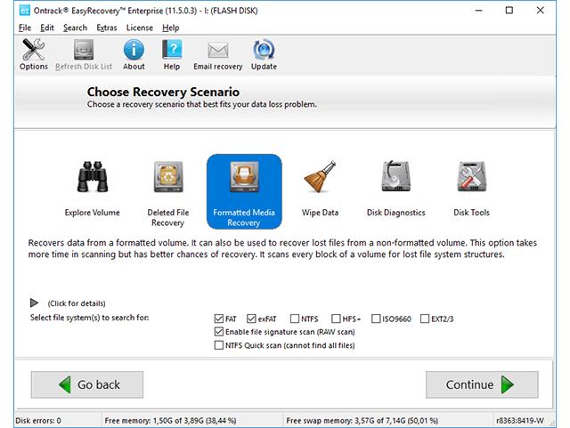 восстановление данных с Easy Recovery