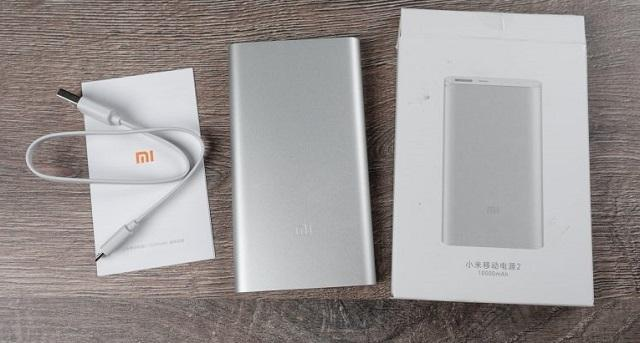 Xiaomi Mi Power Bank 2 комплектация