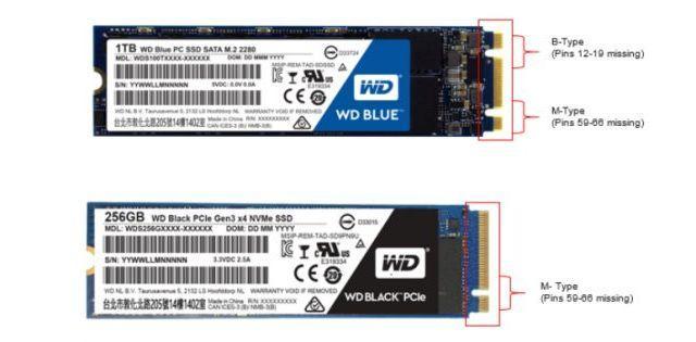 разъем на SSD