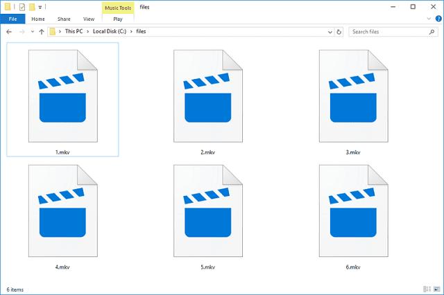 файлы с расширением MKV
