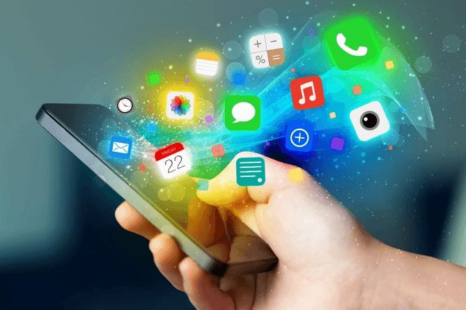 приложения в смартфоне