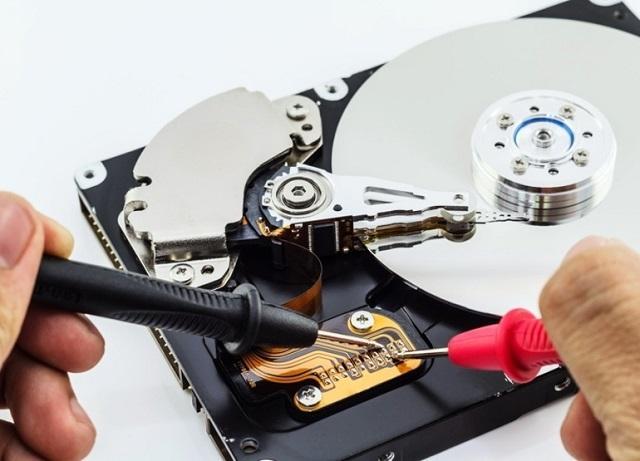 ремонт жесткого диска