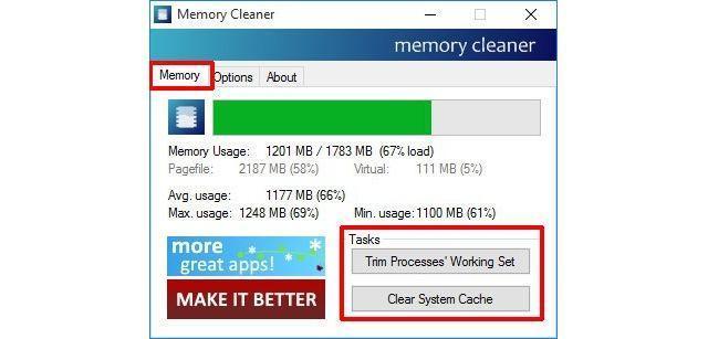 Memory Cleaner
