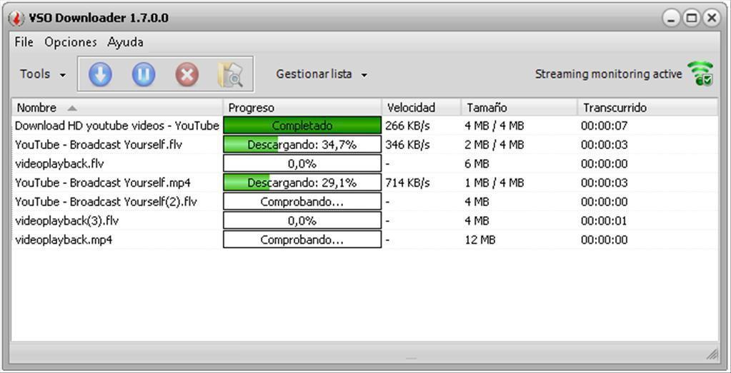 VSO Downloader интерфейс