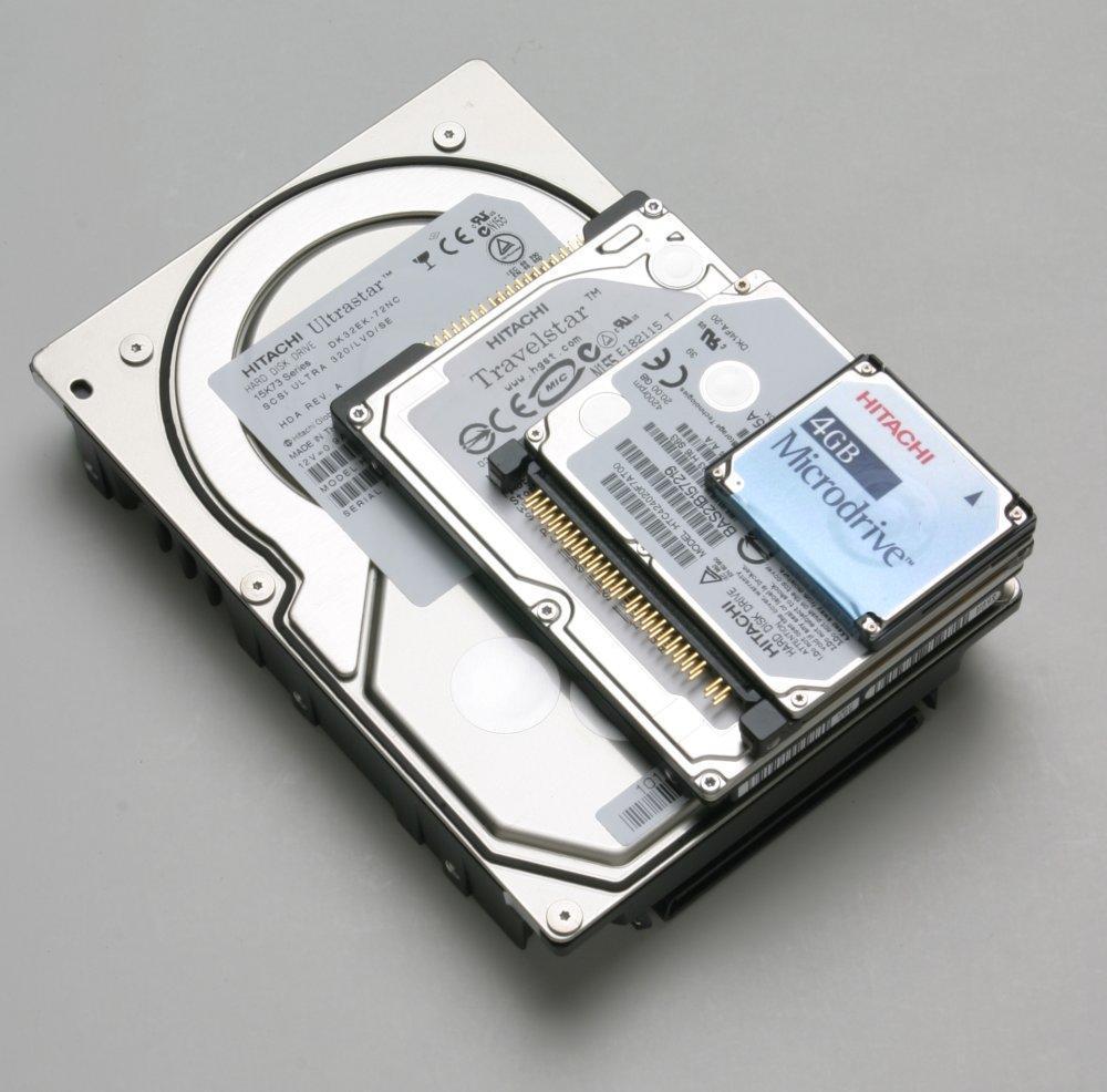 Форм факторы жестких дисков