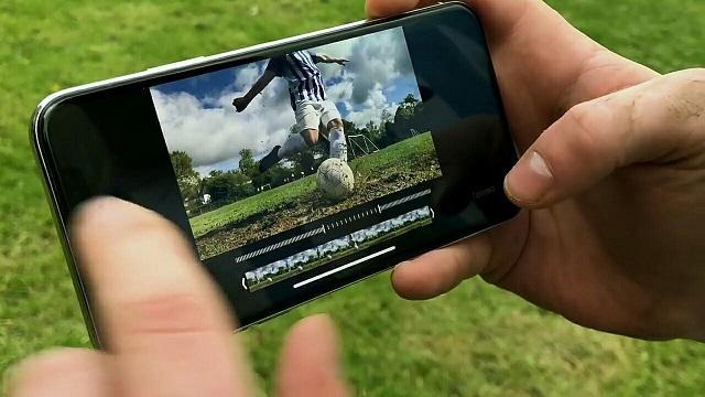 замедленная съемка на iPhone