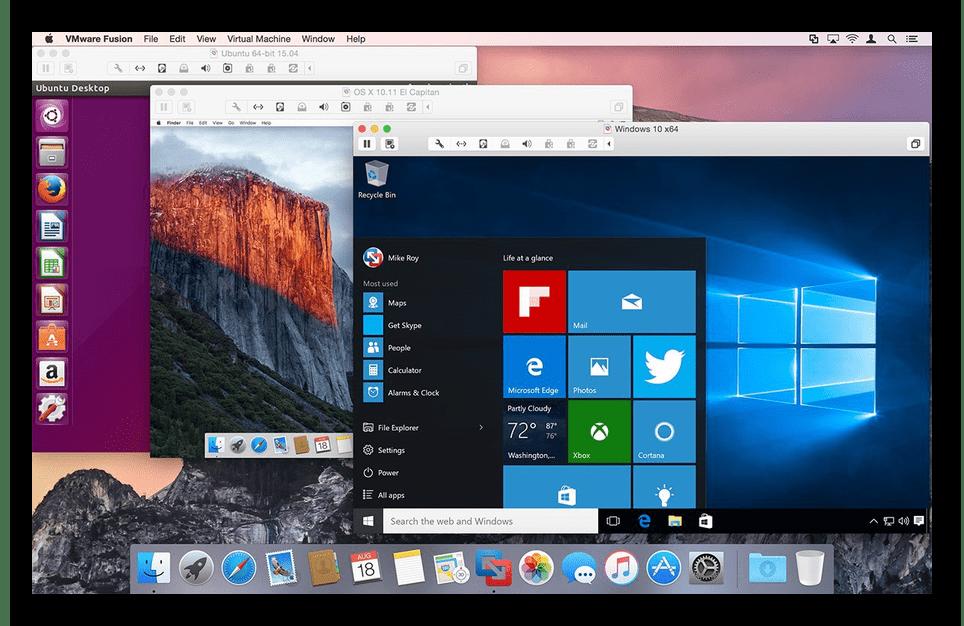 Виртуальная машина на macbook