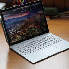 Ноутбук с экраном блокировки