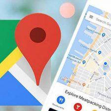 Логотип гугл карт и карта