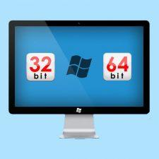 32 или 64 бита виндовс