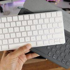 клавиатура в руках