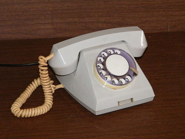 телефон с дисковым набором
