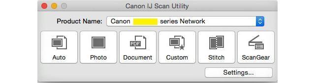 IJ Scan Utility