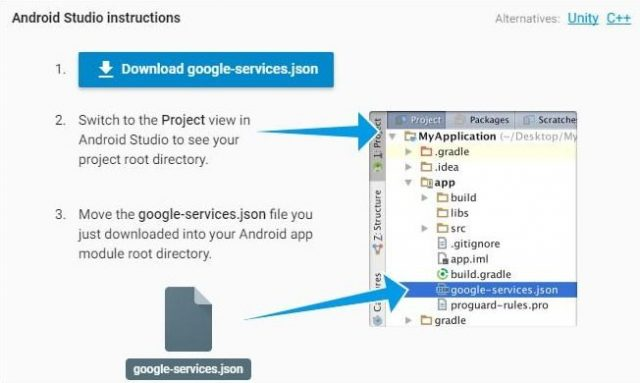 формат JSON в сервис Google+