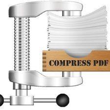 Уменьшить размер pdf