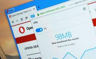 Как включить бесплатный встроенный VPN в браузере Opera?