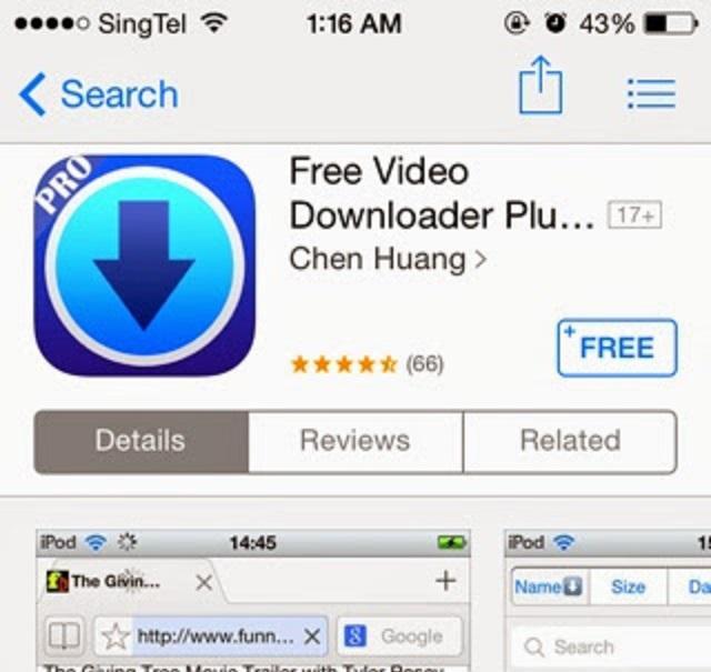 Как скачать видео с твиттера с помощью My Video Downloader Free.